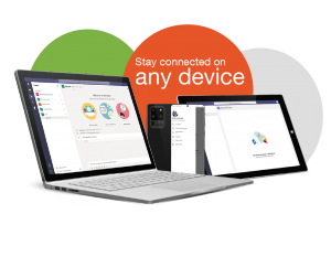 Stay connected on any device